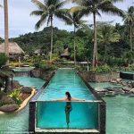 स्विमिंग पूल को लागि कस्टम ऐक्रेलिक प्यानल