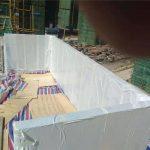 90mm कस्टम ऐक्रेलिक आवरण स्विमिंग पूल